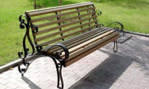 Скамейки для парковой зоны