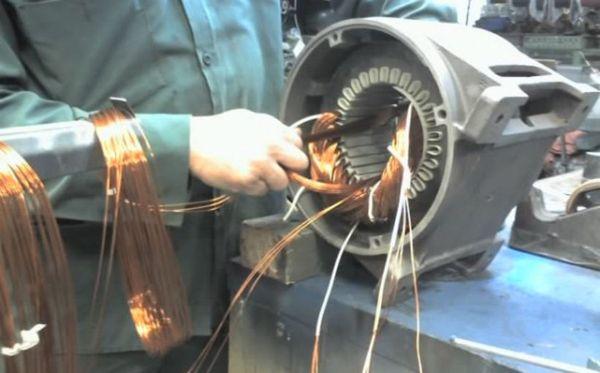 Как осуществляется ремонт промышленных двигателей?
