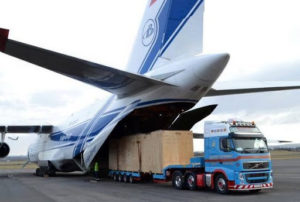Отправка грузов из аэропорта