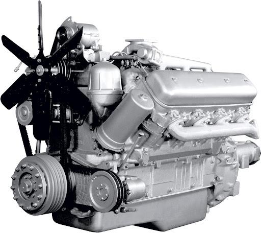 Основные характеристики двигателей ЯМЗ