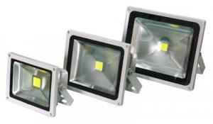 Светодиодные прожекторы: классификация и особенности